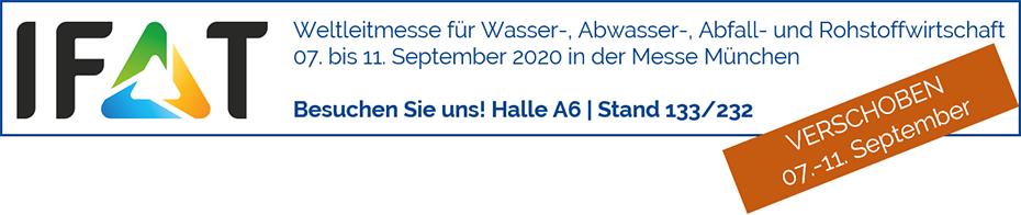 Lubey.de auf der IFAT 2020 in München